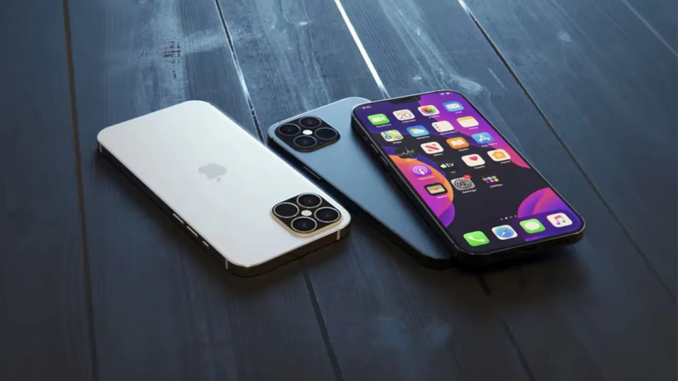 iPhone 12 design concept